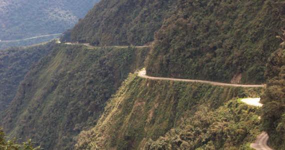 bolivijská silnice smrti