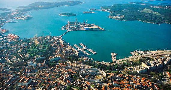 Pula - Chorvatsko