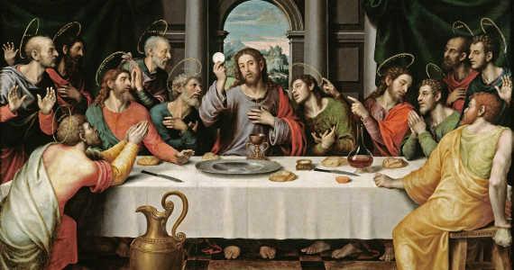 Ježíš Kristus Poslední večeře